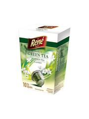 René zelený čaj s jasmínem, kapsle pro Nespresso 10ks