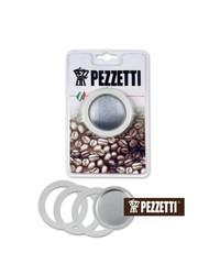 Sada těsnění Pezzetti pro hliníkové moka konvice na 2 šálky