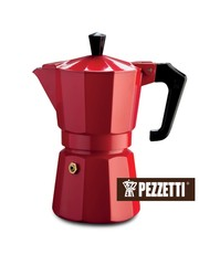 Moka konvice Pezzetti ItalExpress 6 šálků červená