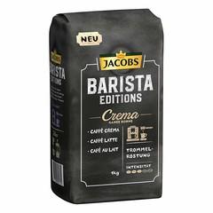 Jacobs Barista Editions Crema zrnková káva 1 kg